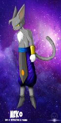 NEKO GOD OF DESTRUCTION IN TRAINING by ERIC-ARTS-inc