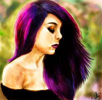 Fifty shades of purple by SirCassie