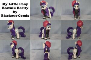 Beatnik Rarity My Little Pony by Blackout-Comix