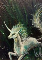 Unicorn -quickpaint by Spyrre