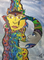Sun and Moon by DruidElf