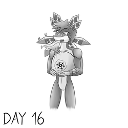 Day 16 (millionarie) by skull1045fox