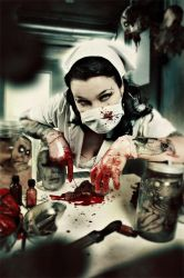 miss rottenart by Heile