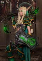 Blood Elf Paladin - 5 by Feyische