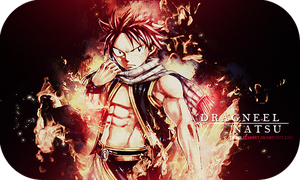 Signature - Natsu Dragneel by TifaxxLockhart