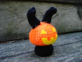Pumpkin Head Moon Bun by MoonYen