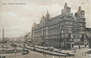 Vintage UK - Lime Street, Liverpool by Yesterdays-Paper
