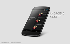 Android 5 Concept by xNiikk