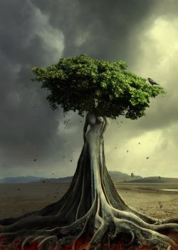 tree of life by BaxiaArt