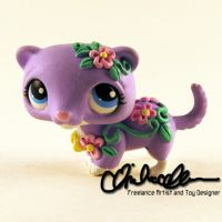 Phoebe the Ferret LPS custom by thatg33kgirl