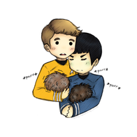 K/S: Purring Tribble? by xCheckmate