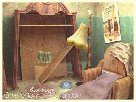 Small Abandoned Room. Game Loc by GJael