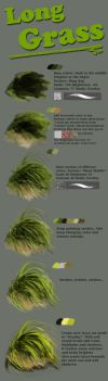 Grass tutorial 2 by Fievy