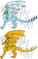 Dragon Adoptables - CLOSED by NoctaAdopts