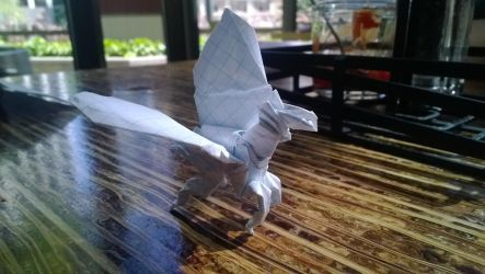 Origami Pegasus by taerkitty
