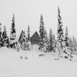 Paradise Inn at Mt. Rainier January 2018 by videodude1961