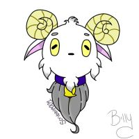 Billy - Goat Pet by Scribbles001
