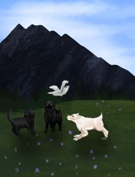 Felvargs- All the flying things by deadlylupine