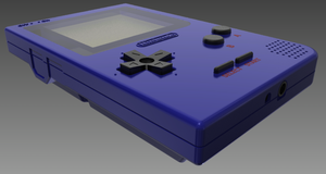 Gameboy pocket blue by JasonXL