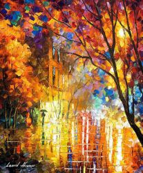 Impression Of Colors by Leonid Afremov by Leonidafremov