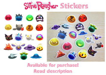 SLIME STICKER SALE by BuGzY111
