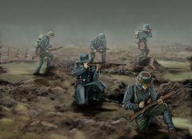 German stormtroopers by timcatherall