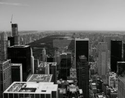 looking from the top of the rock by NiVosta