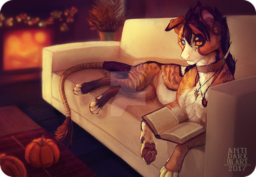 Cozy Corner - Commission by Anti-Dark-Heart