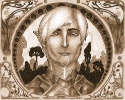 Fenris Framed by LernoVictoria