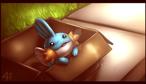 You know you love Mudkip by Bandof40Artthieves
