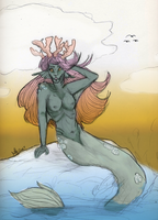 Mermay - day 3  [closed] by Qu-Ross