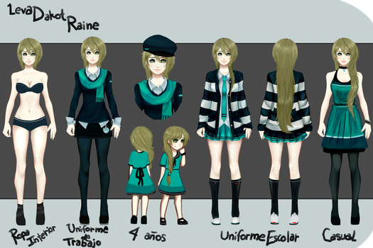 Leva Dakot Raine - Reference by LevaDakot