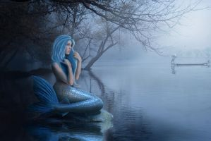 The Siren and Fisherman by Energiaelca1