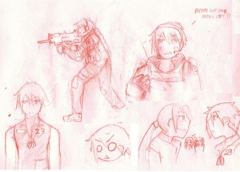 'Project 3' - Character 1 by shanty0shanty