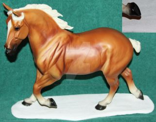 Snowy Breyer Base ~ Commissions Available by Lovely-DreamCatcher