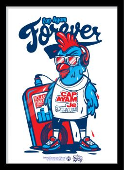 CAP AYAM FOREVER by Dosis-Memory