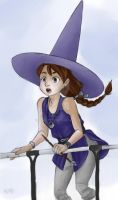 Little Witch by chai--tyto