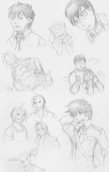 May 2015 Sketches by kristensk