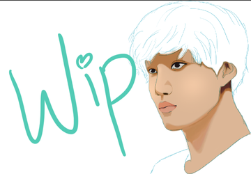 EXO KAI WIP 3 by xoxkiss