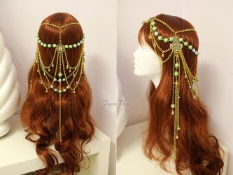 Sage Magical Star Circlet by Firefly-Path