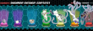 Digimon Evo Line Contest by Foxymon