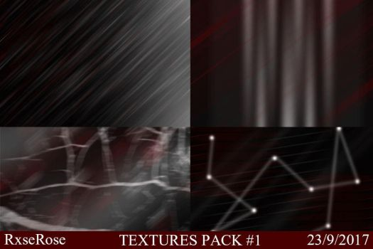 Textures Pack #1 - RxseRose by RxseRose