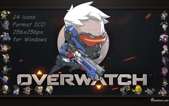 Icons Heroes Overwatch by favorisxp
