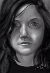 Young Girl's Face by tadamson