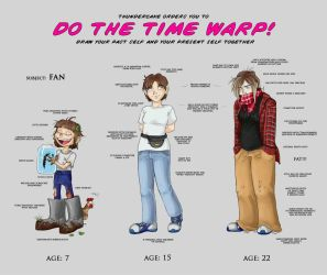 time warp meme - Fan style by Fan-the-little-demon