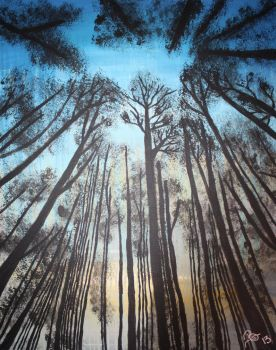 Trees in the Sky by Bex013