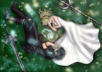 Luna And Noctis by Natini