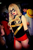 Ms. Marvel at con by Kitty-Honey