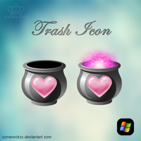 trash icon by xxmsrockxx