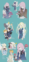 Little Witch Academia by MUITOTW